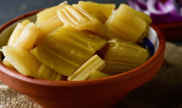 Cardoon steamed