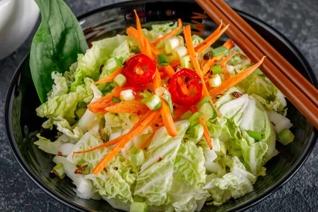 How To Serve Chinese Cabbage Harvest To Table