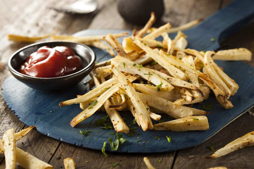 Parsley root French fries