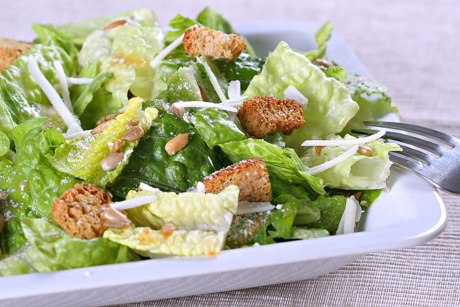 Romaine Casear salad