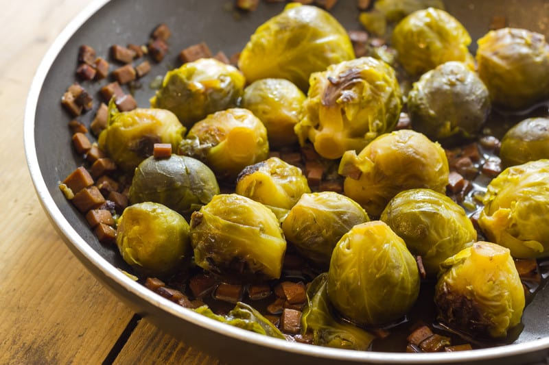 Brussels sprouts sauteed