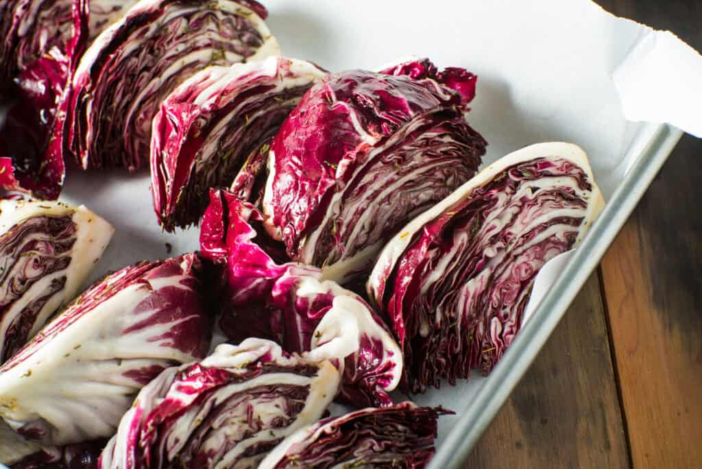 Radicchio roasted