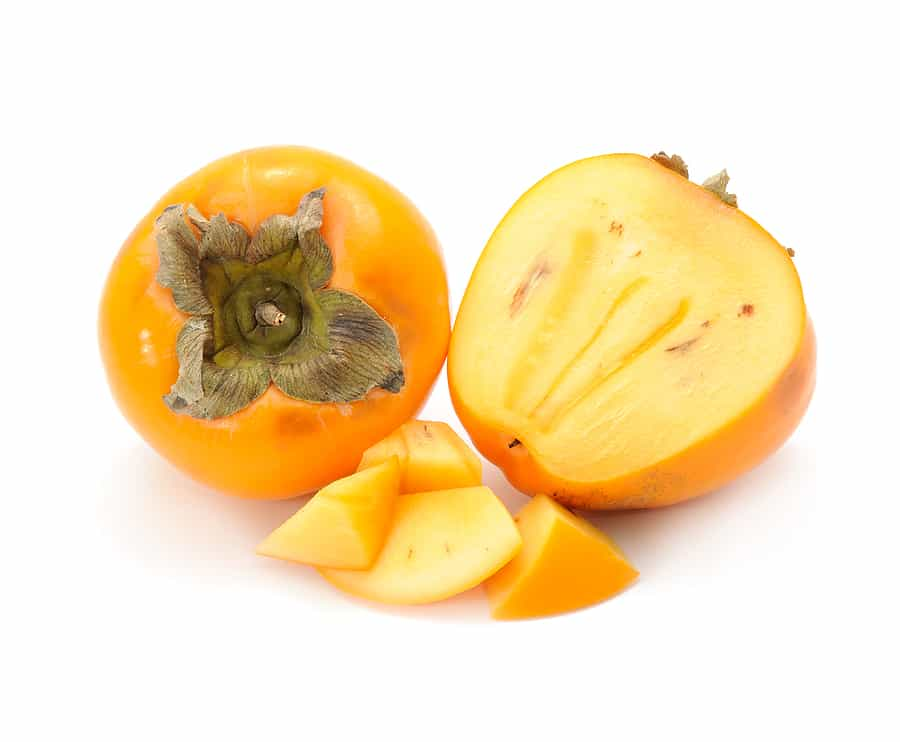 Serve persimmons