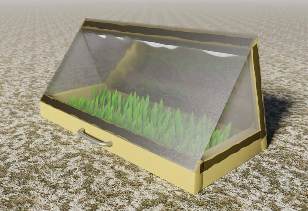 Plan for a coldframe