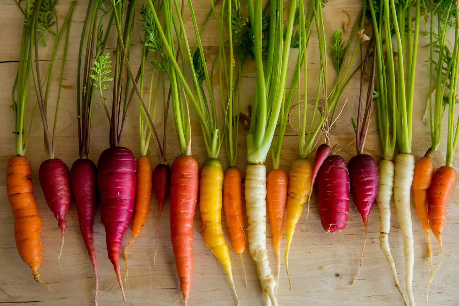 Carrot varieties are many