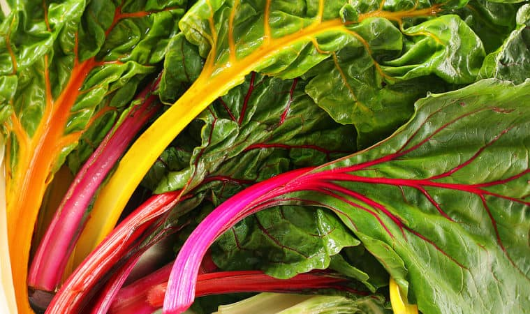Grow chard from spring through autumn