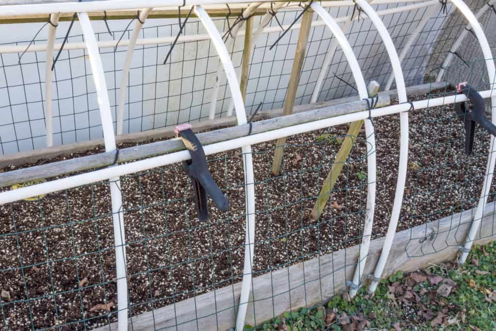 Cold frame protection