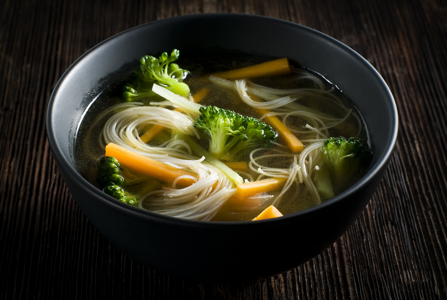 Vegetable And Rice Noodle Soup Harvest To Table