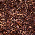 Mulch of organic materials