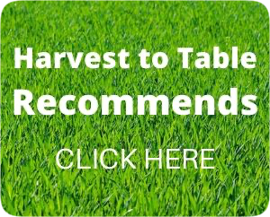 Harvest to Table Recommends